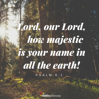 The Lord made our universe