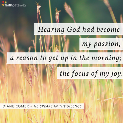 Hearing God became a blessing...