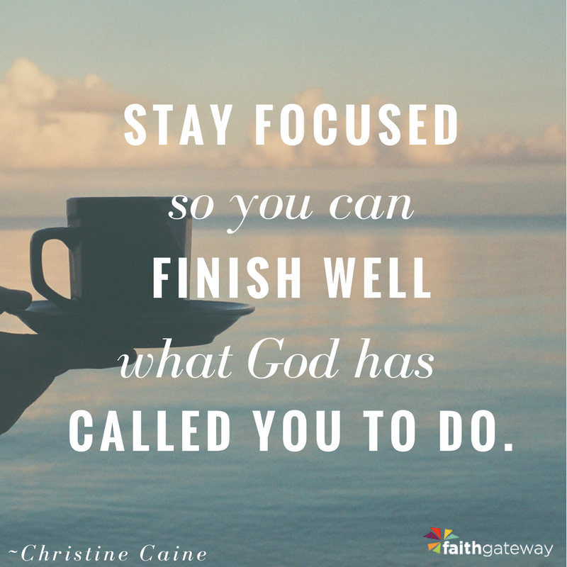 Unshakeable: stay focused