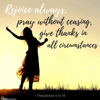Give Thanks in All Circumstances - FaithGateway