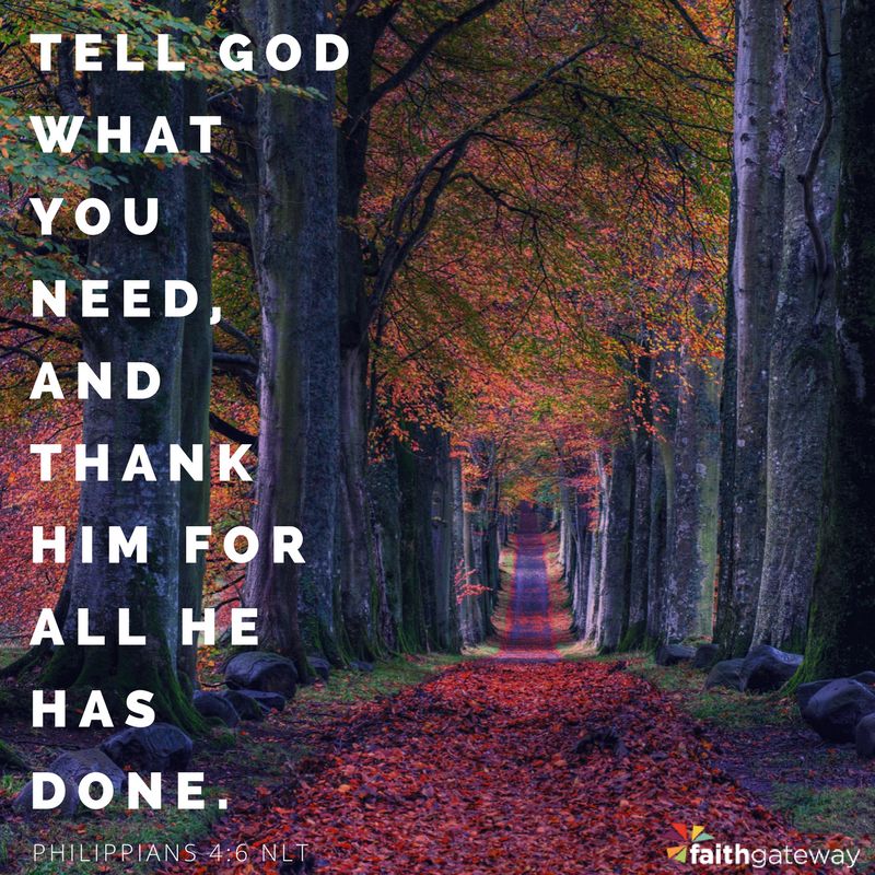 Have gratitude.