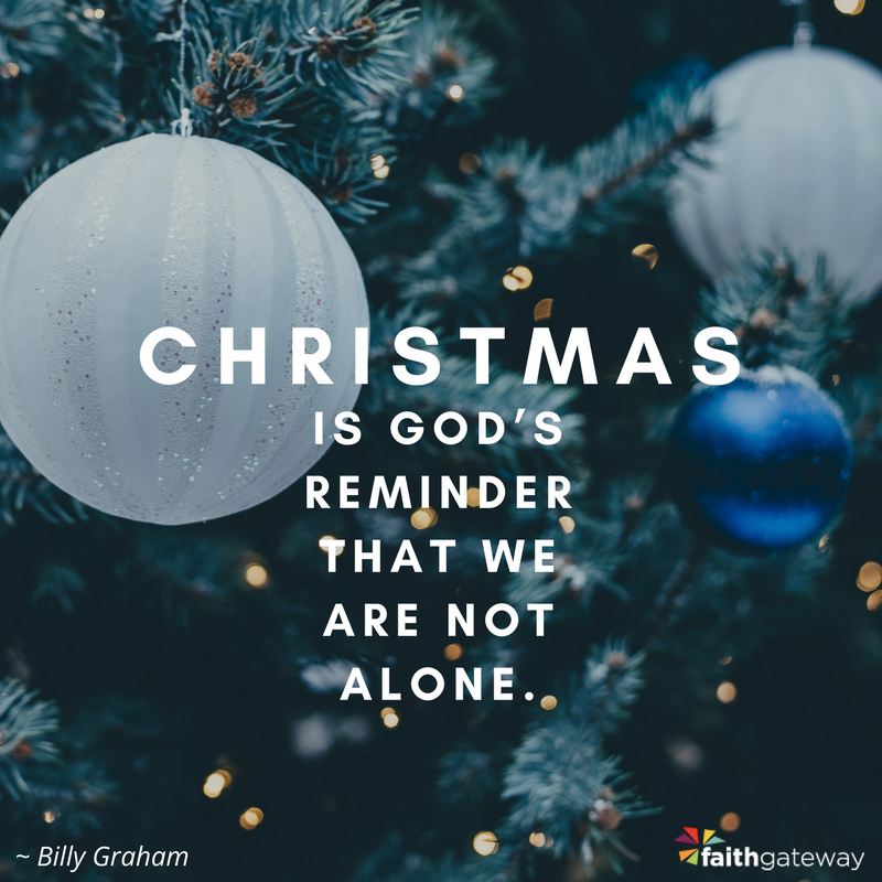 God Is With Us This Christmas - FaithGateway