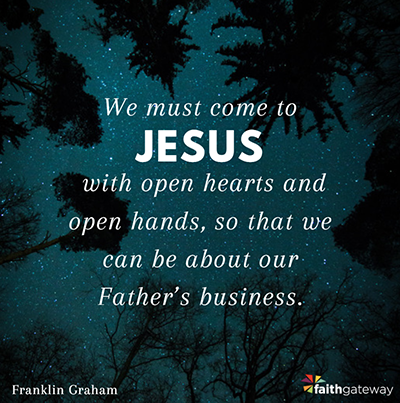 About My Father's Business | Franklin Graham, Billy Graham