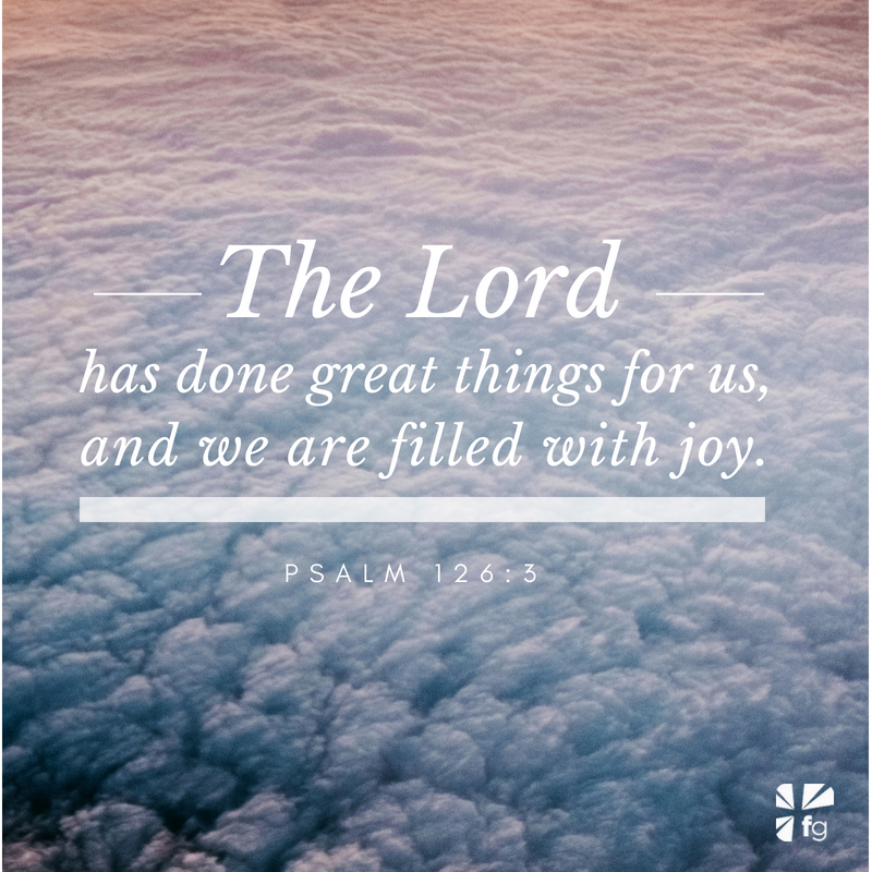 God's Words of Life on Joy