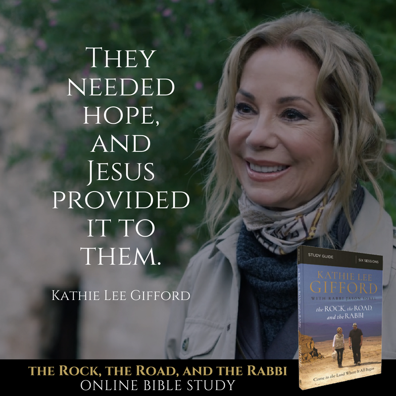 Healed by Touch | The Rock, the Road, and the Rabbi by Kathie Lee Gifford