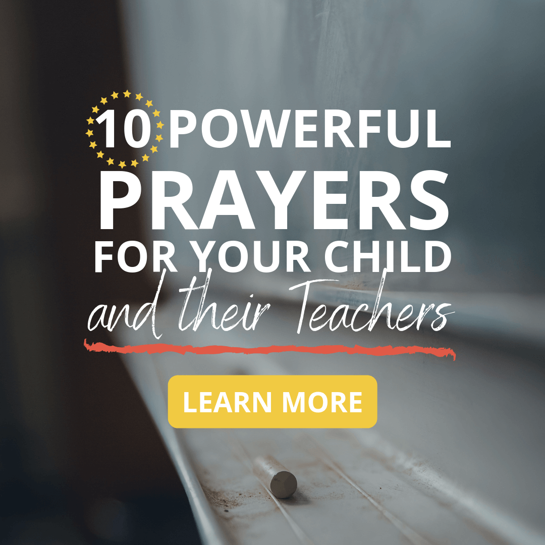 Praying for Teachers Schools Students