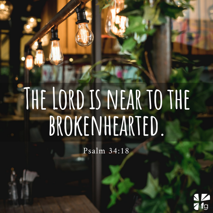 The Lord is near to the brokenhearted; Pain is a microphone - Levi Lusko