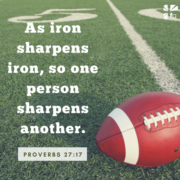 Iron Sharpens Iron - The Faith of the Philadelphia Eagles