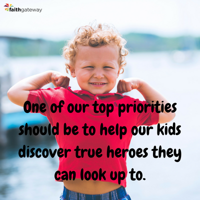Find real superheros for your kids!