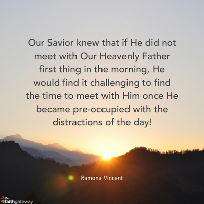 Why Our Morning Routines Matter to God - FaithGateway