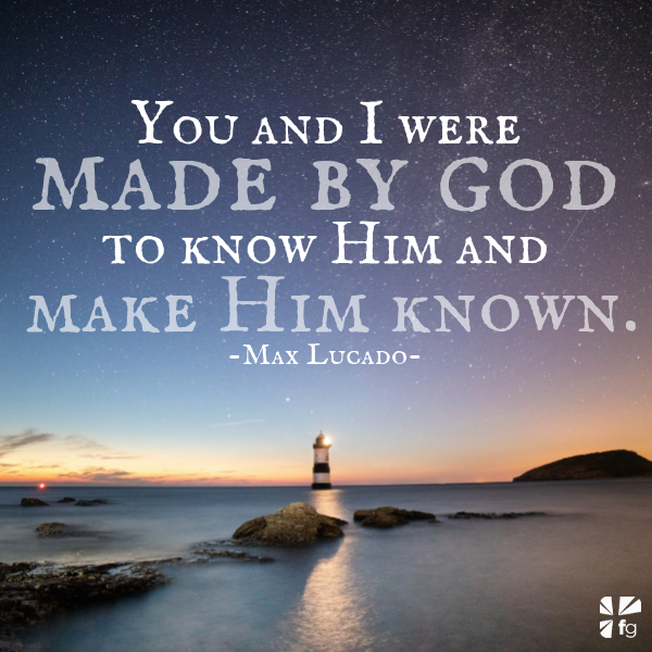 Stamped with God's Image | Max Lucado