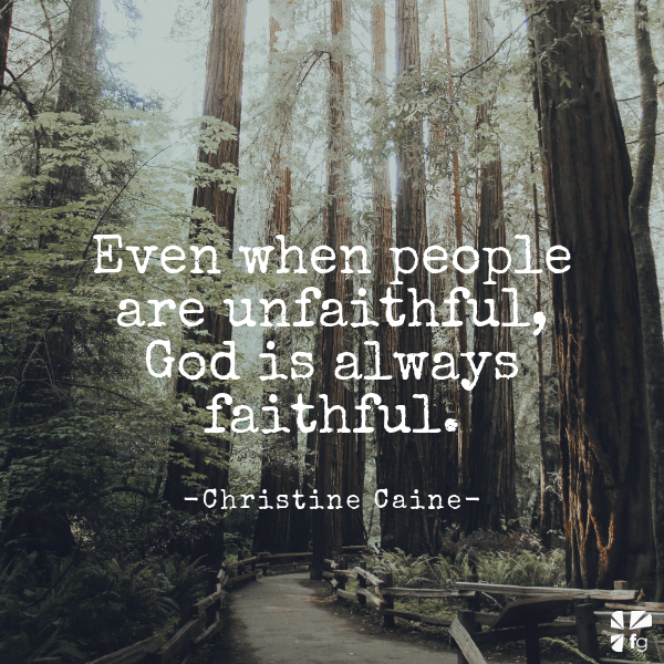 When the Unexpected Betrays by Christine Caine
