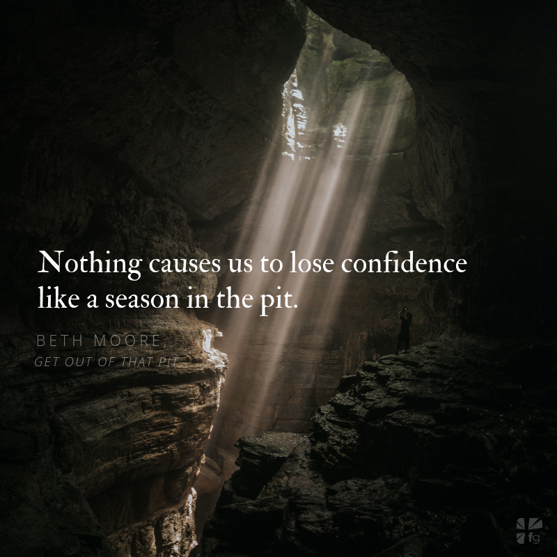 Get Out of That Pit Scripture Prayers - FaithGateway