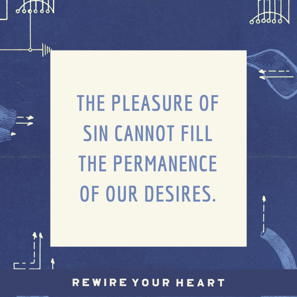 Saying no to sin