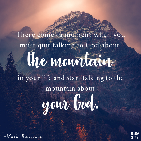 Speak to the Mountain