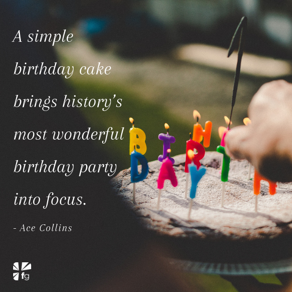 Admirable A Birthday Cake For Jesus Faithgateway Funny Birthday Cards Online Alyptdamsfinfo