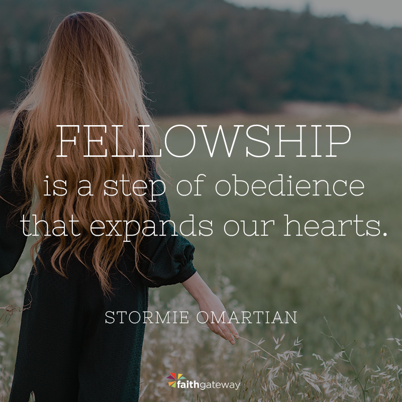 Praying to Have Fellowship with Other Believers