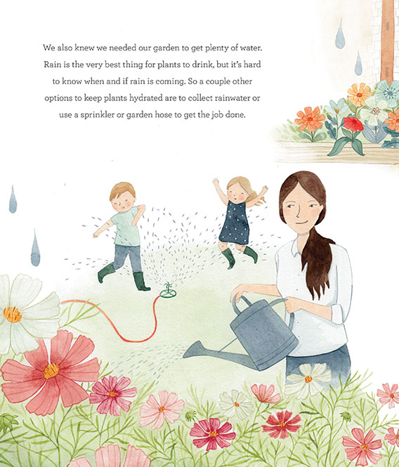 Interior of We Are the Gardeners by Joanna Gaines
