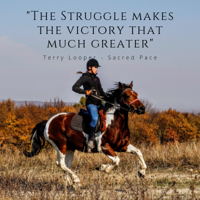 Struggle makes the victory that much greater