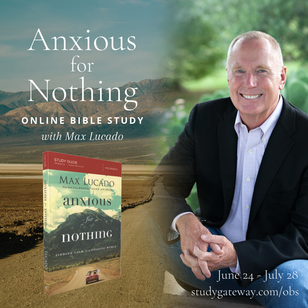 Anxious for Nothing Online Bible Study