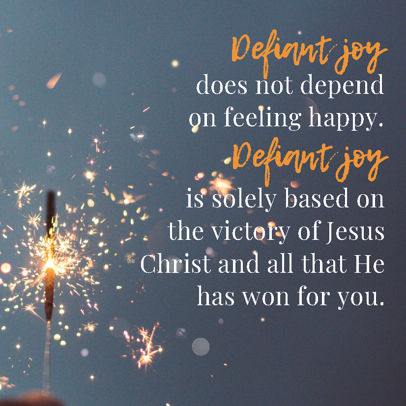 Unwavering: Living with Defiant Joy Week 1 — A Reason to
