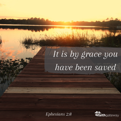 by Grace you are Saved