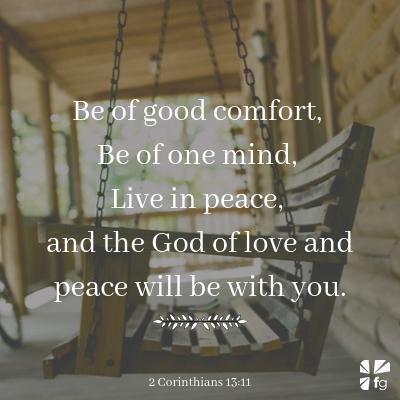 2 Corinthians 13:11