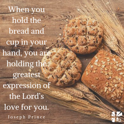 You can hold the greatest expression of God's love