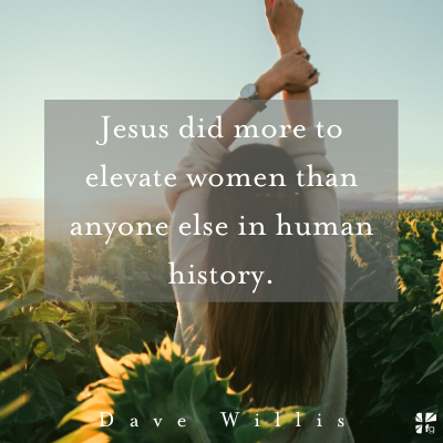 Jesus elevated women