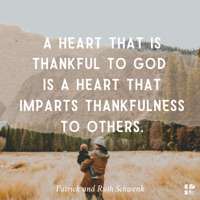 A heart that is thankful