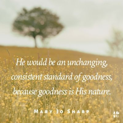 Goodness is His Nature