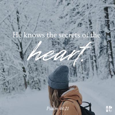 Psalm 44:21