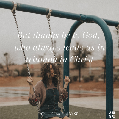 Corinthians 2:14 NASB