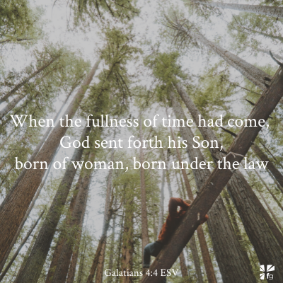 Galatians 4:4 ESV