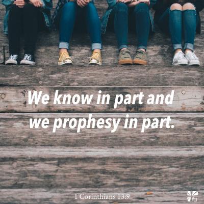 1 Corinthians 13:9