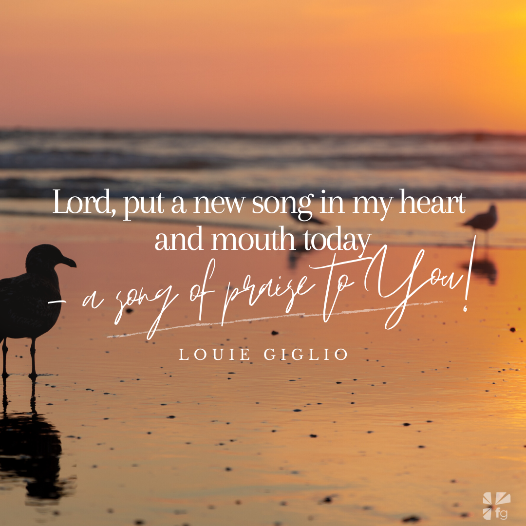 Lord, put a new song in my heart