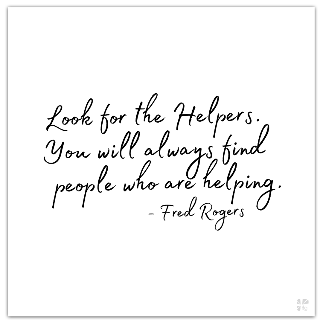 Mister Rogers Look For The Helpers Faithgateway