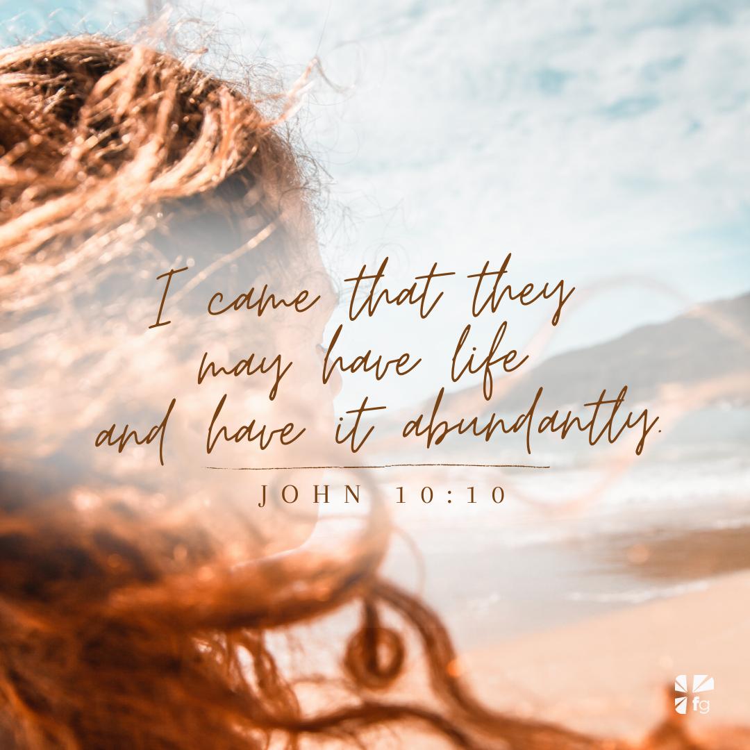 John 10:10 ESV