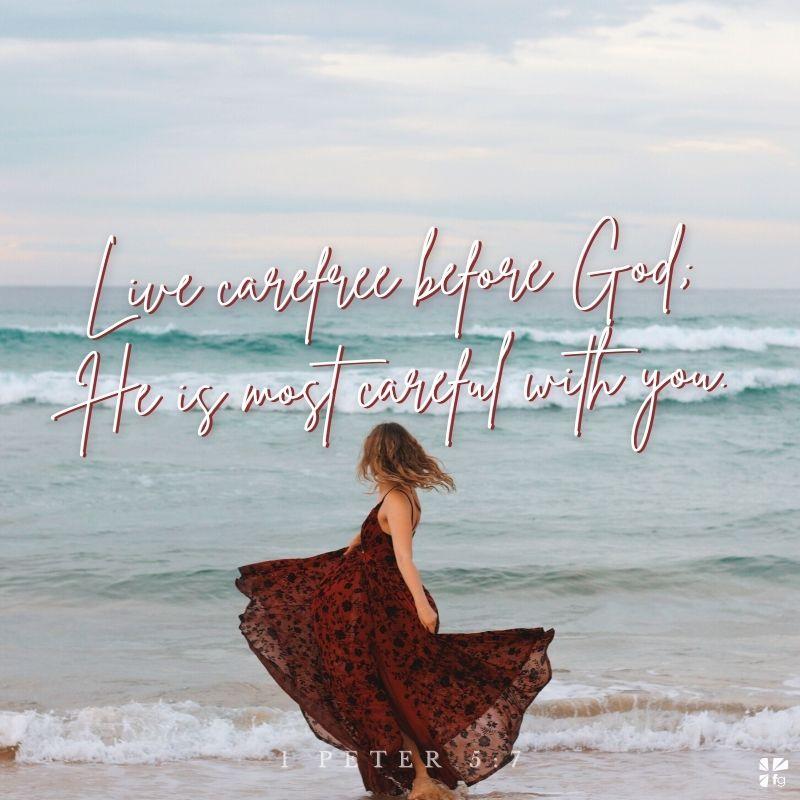 Benevolent Detachment, 1 Peter 5:7