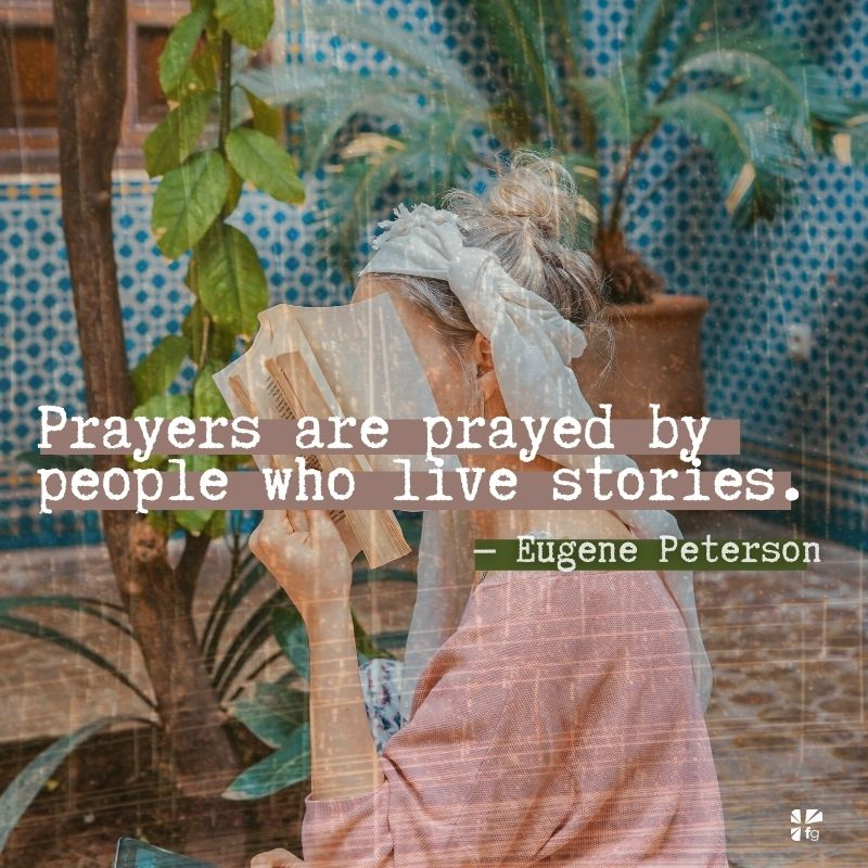 Prayer in Our Story