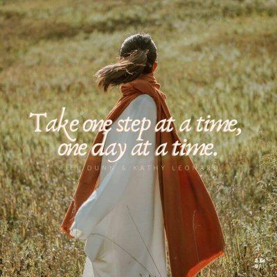 Yas: her seferinde bir gün, her seferinde bir adım atın.