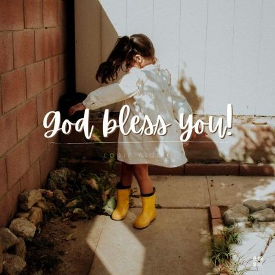 Gud välsigne dig!