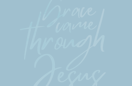 To those who feel undeserving of a new beginning, remember, it's grace. Grace upon grace, actually. No one deserves it, but it's available to us now through Jesus. Jesus isn't done with you yet.