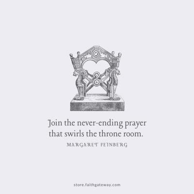 Join the never-ending prayer that swirls the throne room.