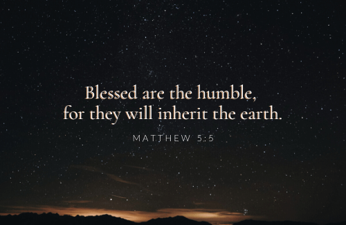 Humility isn't always natural; it's something we practice. We don't get to have big egos as believers. We're servants, humble as Jesus was, without pride. It's a beautiful thing!
