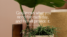 Pray! God will help you. He's listening and He cares about every detail of your life.