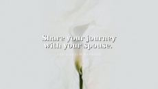Are you happy in your marriage? No matter what the case is, you can strengthen it starting today! Dive in spiritually together! If you're not in a church, start attending (even virtually). Find a way to give back to your community in service.
