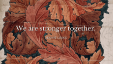 """Tender and tough, sensitive and strong, compassionate and confident."""" Women, we are called to sister one another and love each other well. We are stronger together, stronger in the fight for the gospel, for our families, our children, our jobs, our passions, our dreams, and our missions! Let's do this thing!"""