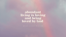 The Christian life boils down to this… Suffering, yes. Abundance, absolutely yes. We are loved by God! He has an abundant life planned for us even when it includes difficulties and hardships. Depression doesn't have to be the end game for us. Come share your thoughts with us on our blog. We want to hear from you!