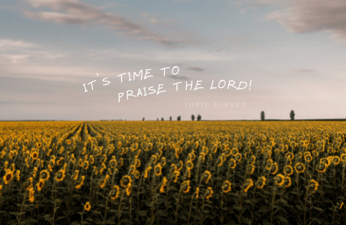 Praising God through the anxious times takes resolve! We must, as believers, decide that we've decided! Praising Him when things are easy is easy! Praising Him and trusting when it's chaotic and worrisome is a whole new level of spiritual maturity. Are you ready to level up, friends? Let's do it!